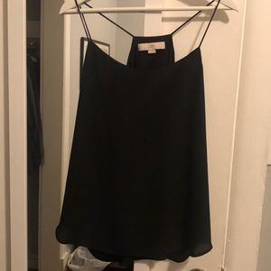 Black loft blouse